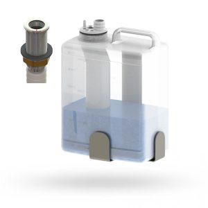 TOP-FILLING MULTIFEED KIT WITH SOAP LEVEL INDICATOR
